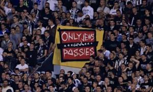 Сербских фанатов могут наказать за юдофобию