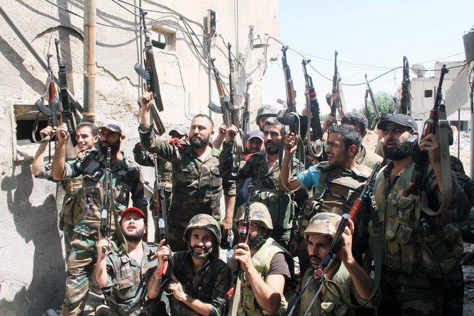 Сирийские сепаратисты в ожидании американского оружия
