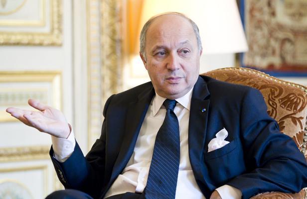 министр Лоран Фабиус
