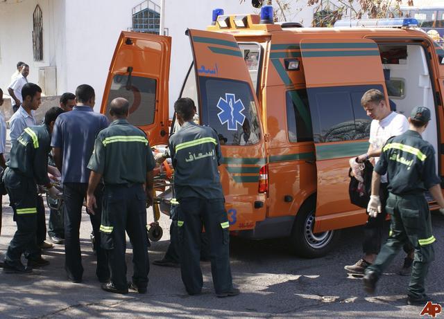 В Египте разбилась группа российских туристов