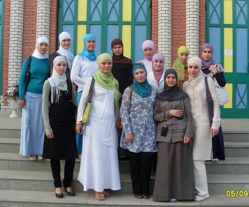 Мусульманки Мордовии