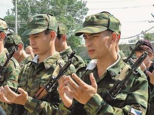 Военнослужащим-мусульманам впервые устроят выходной на Курбан-байрам