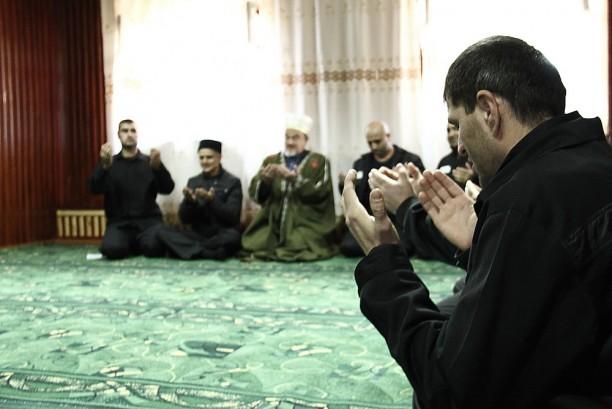 Праздничная молитва в колонии строгого режима № 2 Ангарска
