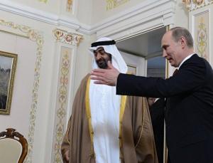 Путин обсудит с принцем Абу-Даби вопросы двустороннего сотрудничества