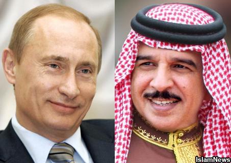 Путин и король Бахрейна вместе посетят гонки «Формулы-1»