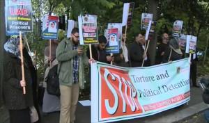 В Лондоне прошла демонстрация против пыток и исчезновений в ОАЭ