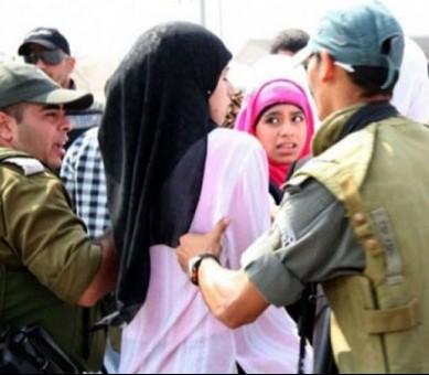 Израильские военные похитили 9 палестинских мусульманок