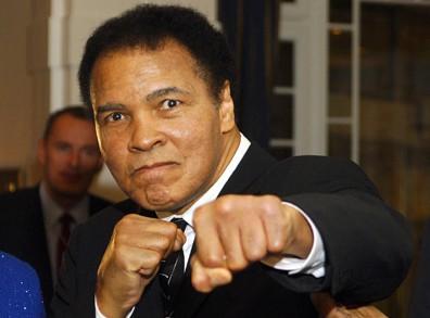 Болезнь лишила Мохаммеда Али дара речи