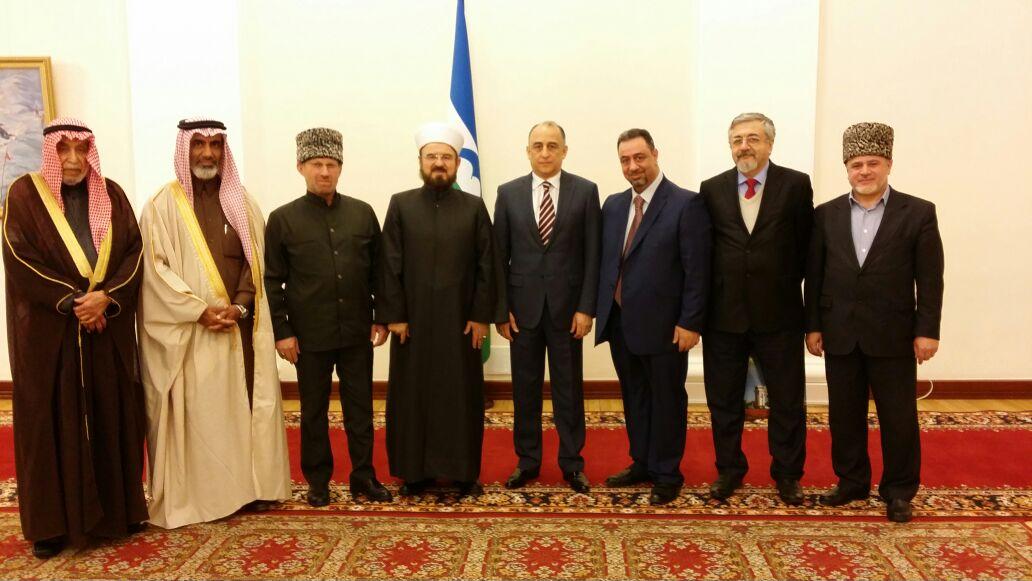 Встреча делегации с главой республики