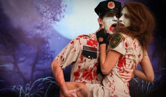 В некоторых ночных клубах России празднование Хэллоуина перетекает в настоящие оргии