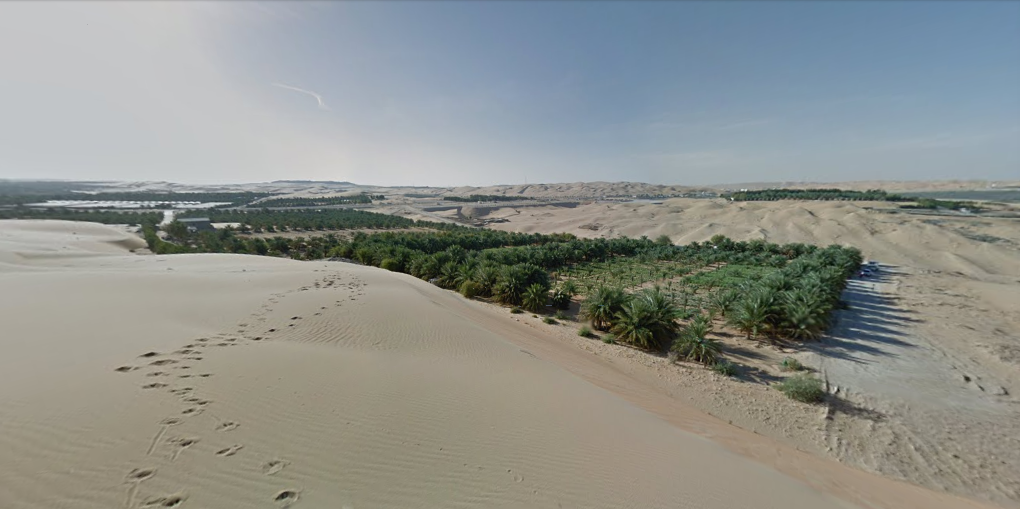 Пустыня Лива