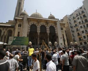 В Египте вновь открыли мечеть, укрывшую сторонников Мурси