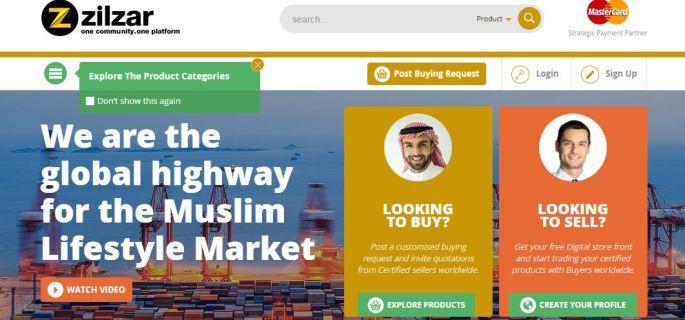 Скриншот главной страницы Zilzar.com