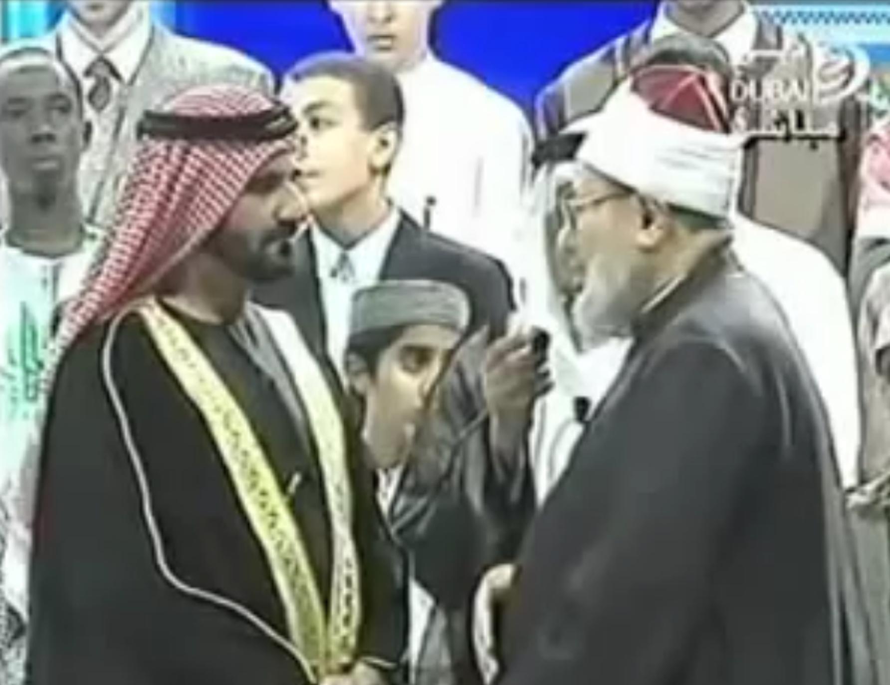 Торжественный прием шейха Кардави руководством ОАЭ