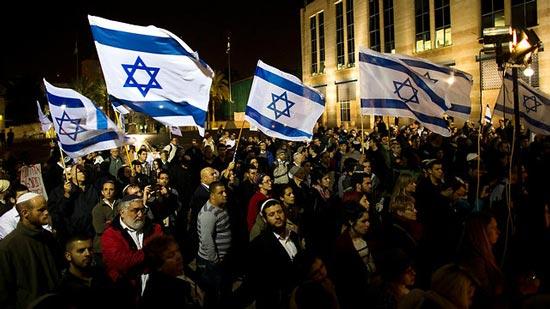 Кадр с марша израильских праворадикалов