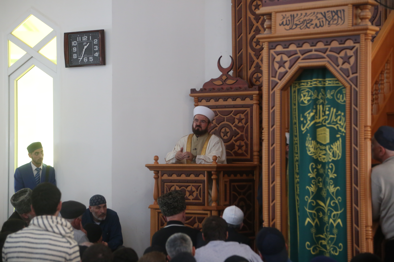 Выступление генерального секретаря  ВСМУ в мечети Нальчика