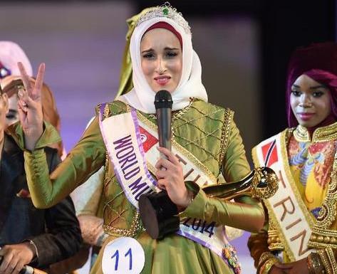 «Мисс Вселенная Муслима» призвала к освобождению Палестины