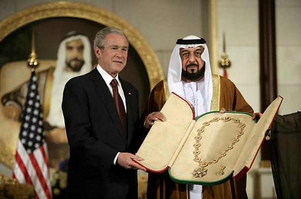 Правители США и ОАЭ демонстрируют полное взаимопонимание