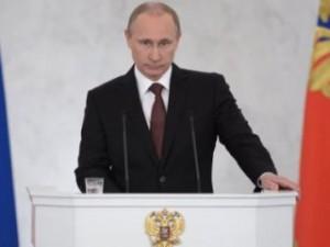 Путин посвятит послание экономике, Крыму и единению России