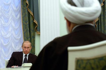 Владимир Путин и Хасан Роухани (Фото: Сергей Гунеев / РИА Новости)
