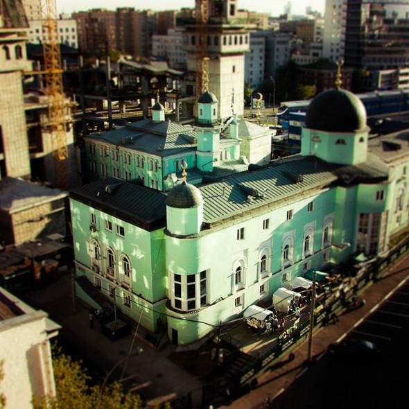 Соборная мечеть на проспекте Мира