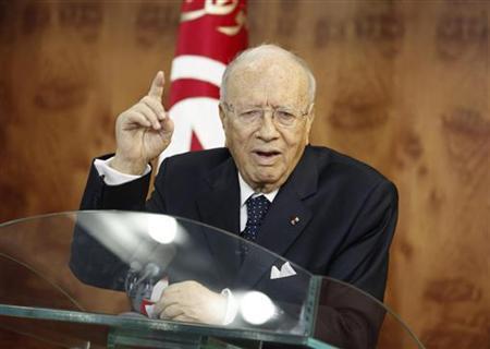 Новый президент Туниса Беджи Каид Эс-Себси