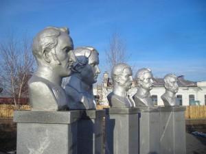 Мемориал декабристам в Ялуторовске