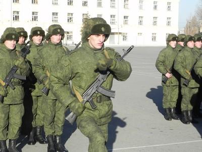 Новобранцы из Чечни и Дагестана принесли присягу