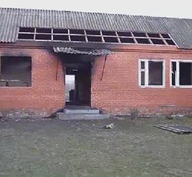В Чечне уничтожили дом боевика, напавшего на Грозный