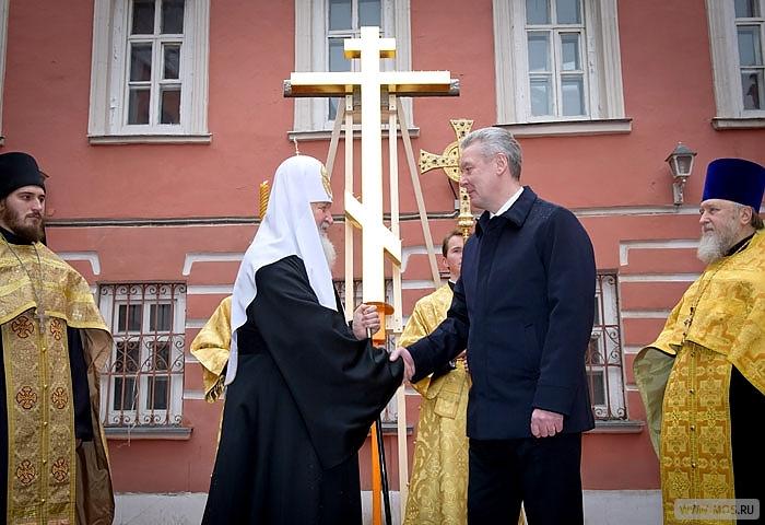 Число православных храмов в Москве довели до 1056