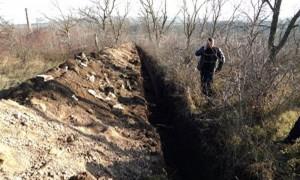 Власти Крыма свернули строительство на мусульманском кладбище