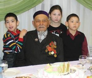 Пулеметчику Сулейманову из Сибири исполнилось 110 лет