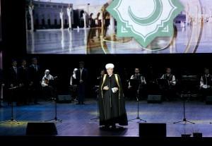 Совет муфтиев проводит концерт с показом волоса пророка Мухаммада