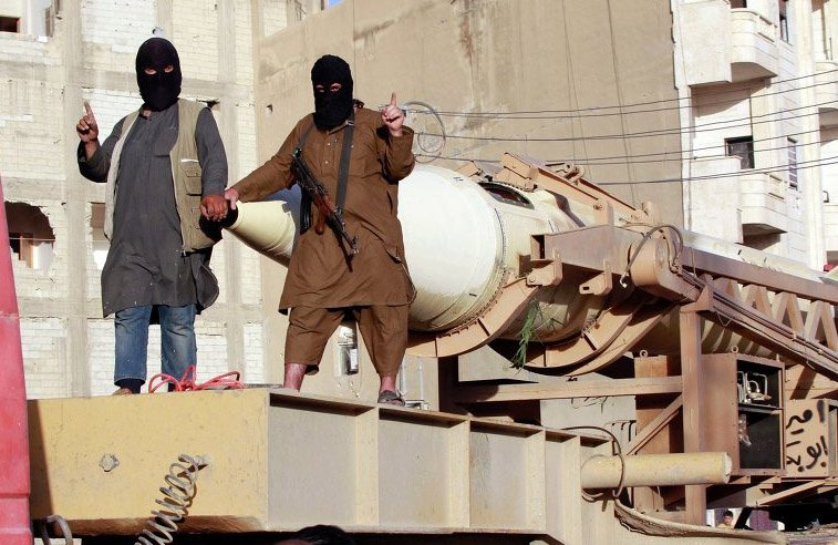 """Над """"Исламским государством"""" сбит истребитель коалиции"""