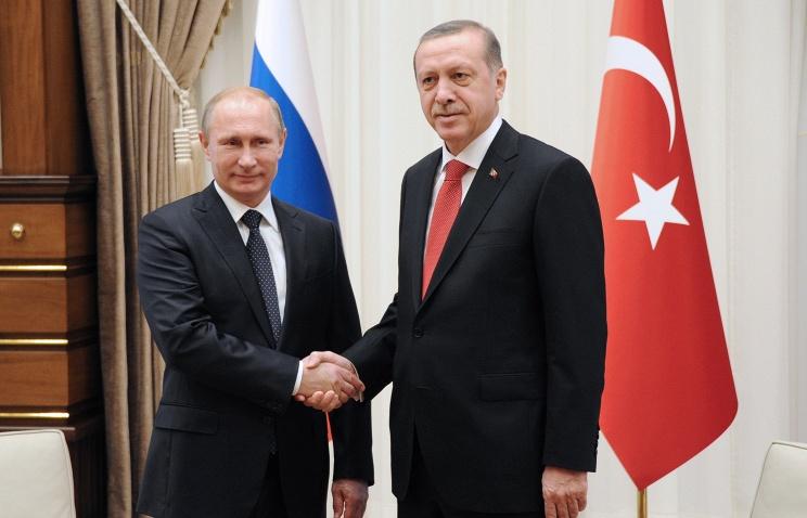 Владимир Путин и Реджеп Эрдоган общались втрое дольше запланированного