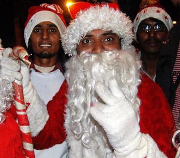 Рождественский ажиотаж в Исламской республике Пакистан