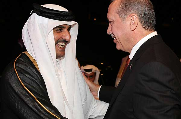 Лидеры Катара и Турции