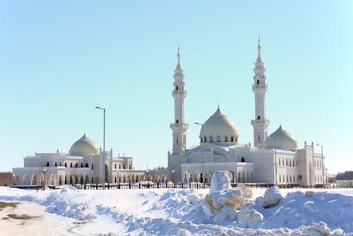 Праздничные мероприятия пройдут в Белой мечети