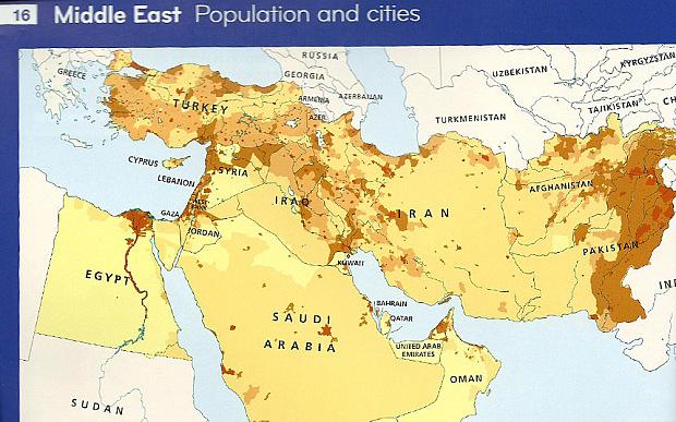 HarperCollins вычеркнул Израиль из школьных атласов