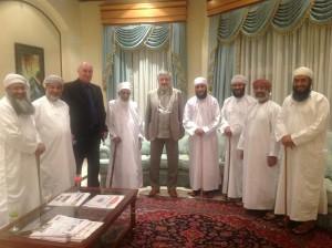 На встрече с Верховным Муфтием Султаната Оман