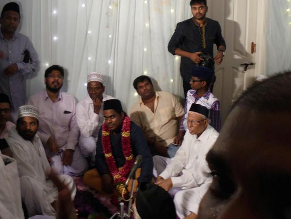 Известный композитор, принявший ислам, отпраздновал свадьбу с мусульманкой