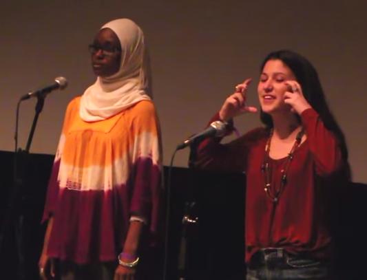 Мусульманка и иудейка создали поэтический дуэт (ВИДЕО)