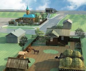проект этнокультурного центра в  юрт оры
