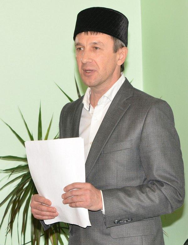 Управляющий махаллей Рамиль Гараев