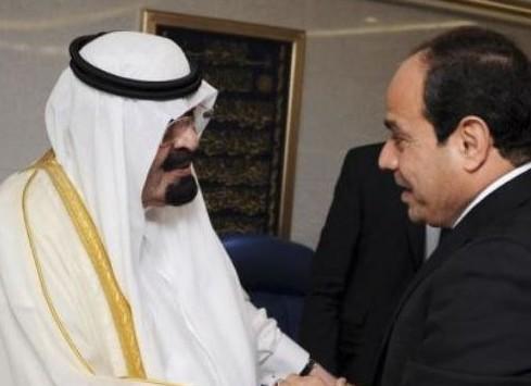 Президент Египта навестил саудовского короля в больнице