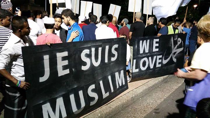 """Тысяча австралийцев присоединилась к маршу """"Je suis muslim"""""""