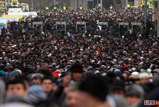 Мэрия Москвы испугалась митинга мусульман против оскорблений пророка Мухаммада
