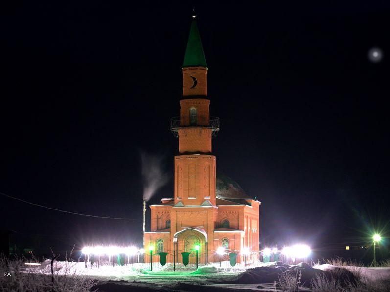 Мечеть ичкинских татар озарилась светом
