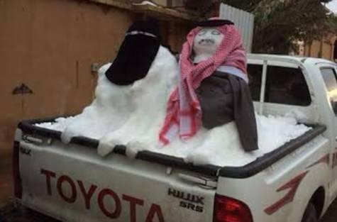Снеговики по-саудийски
