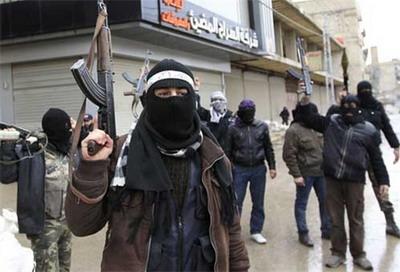 Группировки сирийских боевиков состоят в основном из иностранных наемников